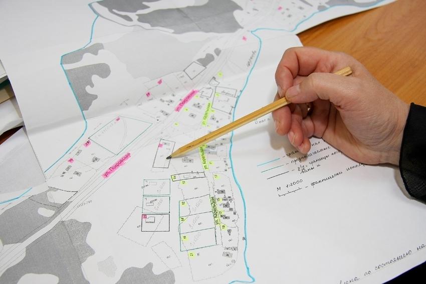 схема расположения земельного участка в ЯНАО